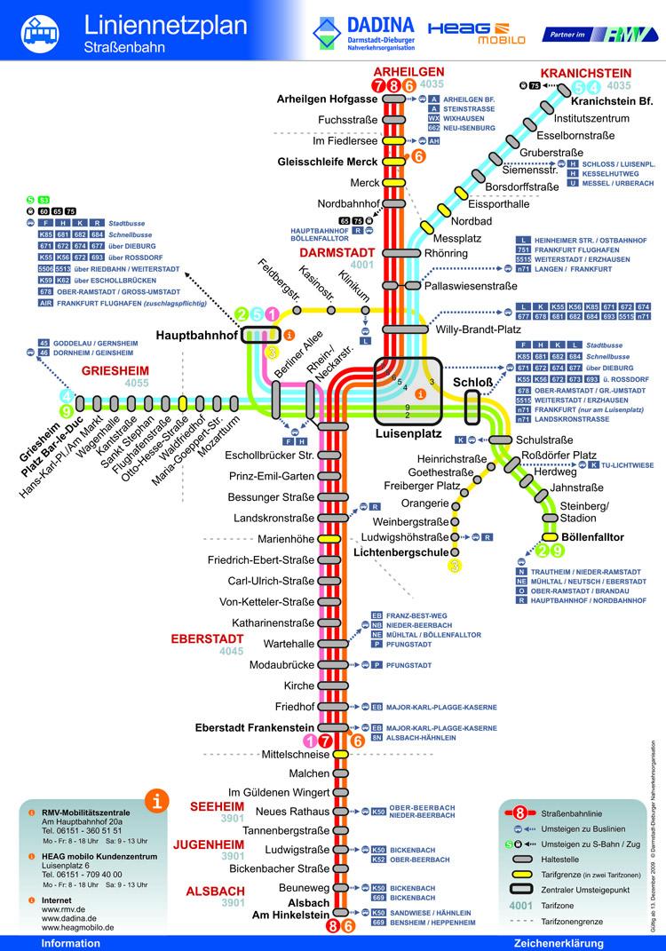 Informationssystem Darmstadt